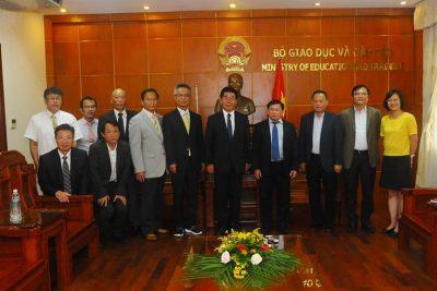Thúc đẩy giao lưu giáo dục và đào tạo giữa Việt Nam và Nhật Bản